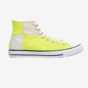 🔥 Fluorescent Hi-Top Converse 🔥 Chuck Taylor Men's Size 10